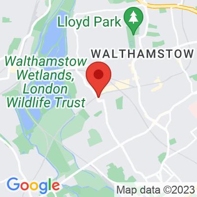 Map showing Long & Short Coffee (Walthamstow)