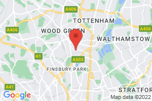St. Ann's Hospital Library (Barnet Enfield and Haringey Mental Health Trust) on the map