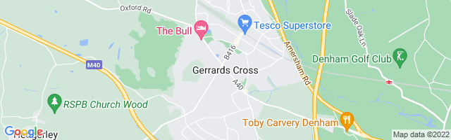 Map Of Gerrards Cross