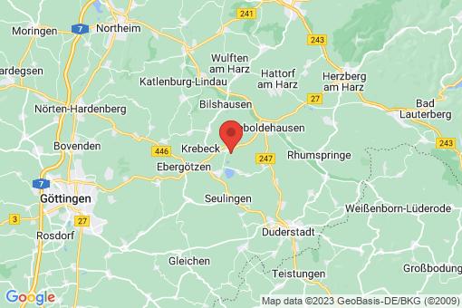 Karte Wollbrandshausen