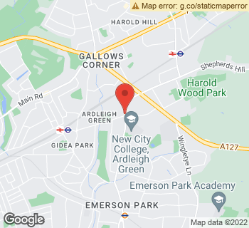 Map of The Plantique at 189 Ardleigh Green Road, Hornchurch, Essex RM11 2SD
