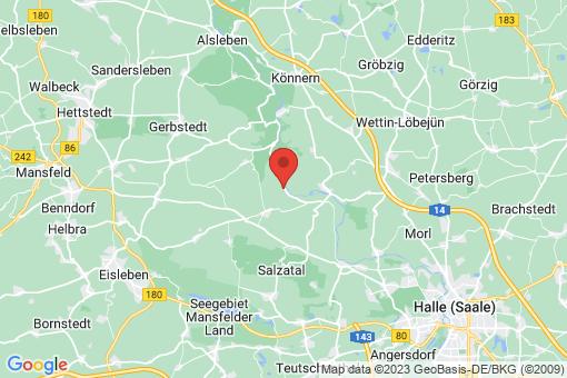 Karte Kloschwitz