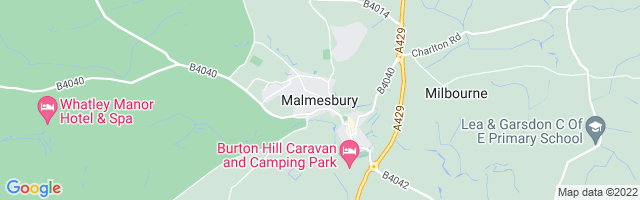 Map Of Malmesbury