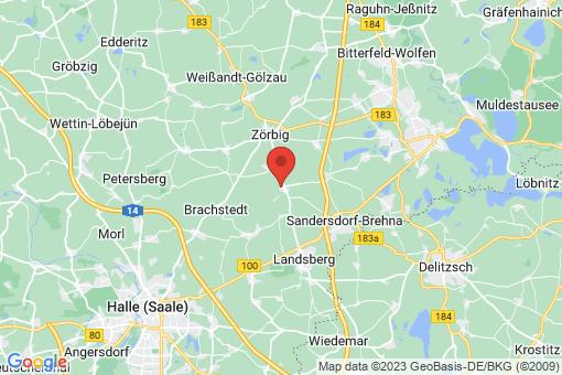 Karte Quetzdölsdorf