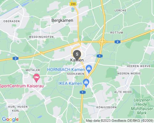 Google Karte von Schlüsseldienst Kamen