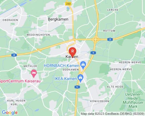 Google Karte von Rohrreinigung Kamen