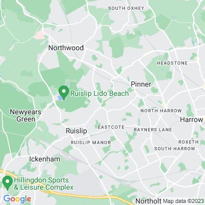 Eastcote House Gardens Location