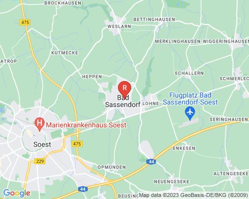 Google Karte von Rohrreinigung Bad Sassendorf