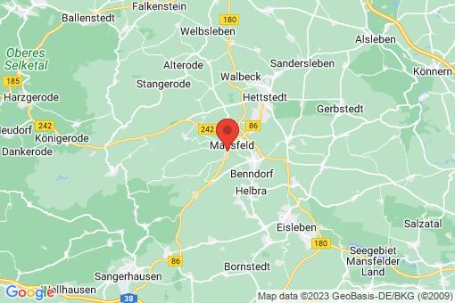 Karte Mansfeld