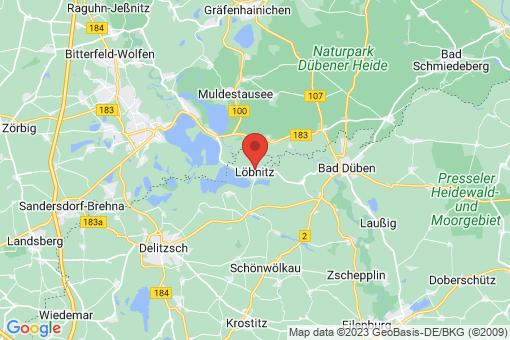 Karte Löbnitz