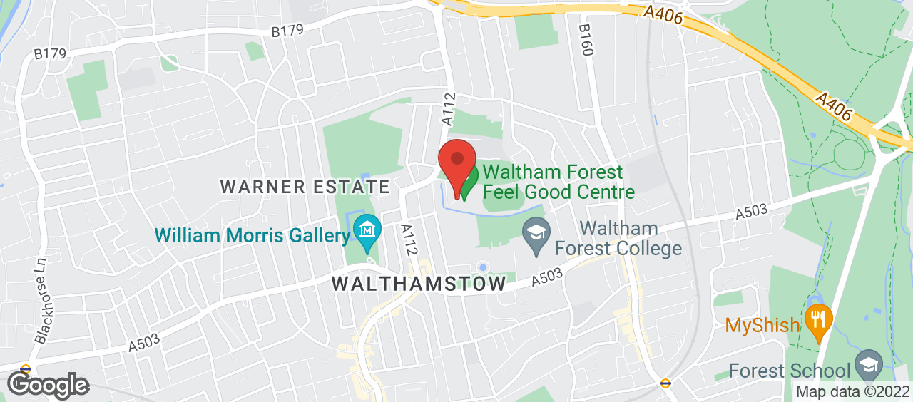 Waltham Forest Feel Good Centre location and directions