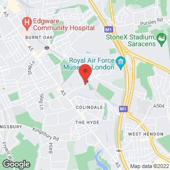 Map of Taco Bell at 130 Colindale Avenue, Colindale,  NW94AX