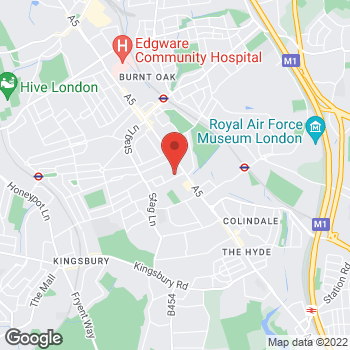Map of wilko Colindale at 47B Capitol Way, London,  NW9 0AW