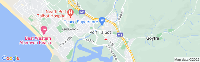 Map Of Port Talbot