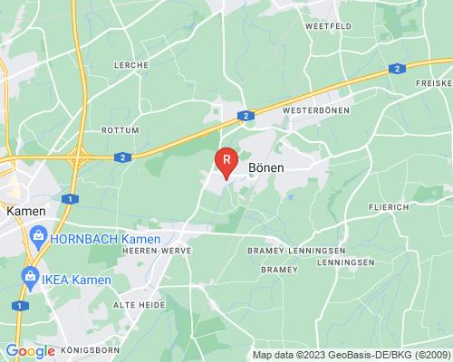 Google Karte von Rohrreinigung Bönen