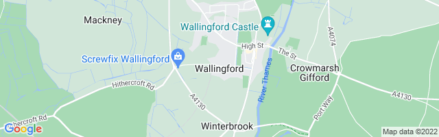 Map Of Wallingford