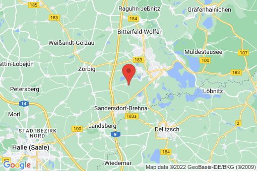 Karte Sandersdorf Renneritz
