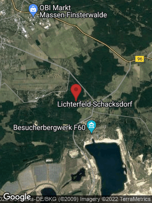 Google Map of Lichterfeld-Schacksdorf