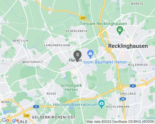 Google Karte von Schlüsseldienst Herten