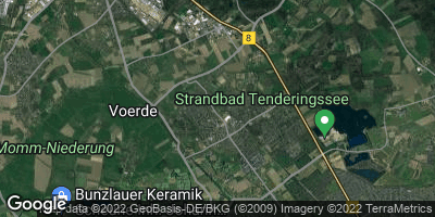 Google Map of Voerde