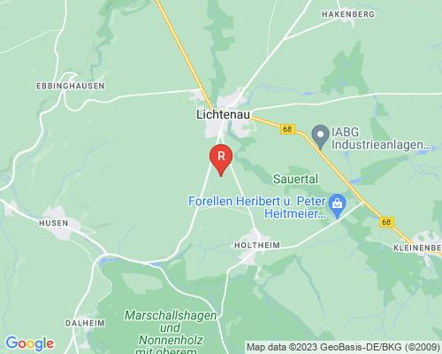 Google Karte von Rohrreinigung Lichtenau