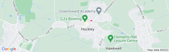 Map Of Hockley