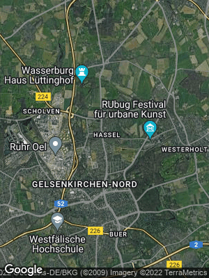 Google Map of Hassel
