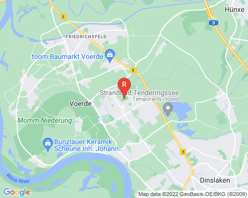 Google Karte von Rohrreinigung Voerde