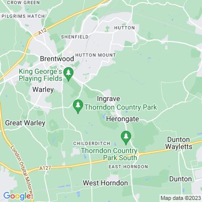 Thorndon Park Location