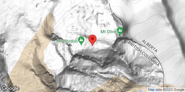 Wapta and Mt Gordon
