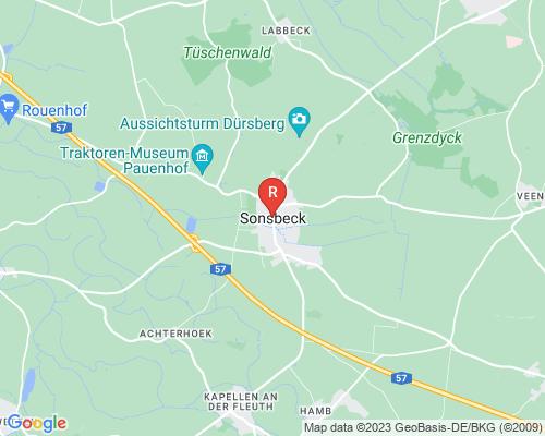 Google Karte von Rohrreinigung Sonsbeck