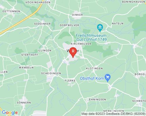 Google Karte von Rohrreinigung Welver