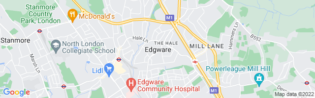 Map Of Edgware