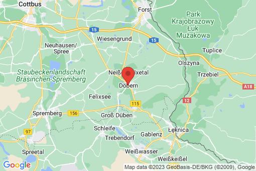 Karte Döbern