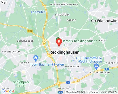 Google Karte von Rohrreinigung Recklinghausen