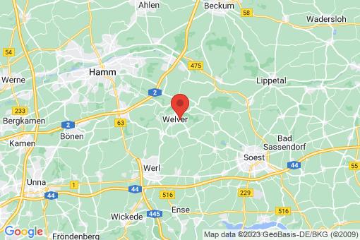 Karte Welver