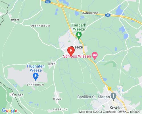 Google Karte von Rohrreinigung Weeze