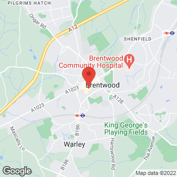 Map of wilko Brentwood at Unit 8, Brentwood,  CM14 4BX