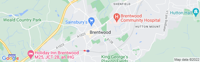 Map Of Brentwood