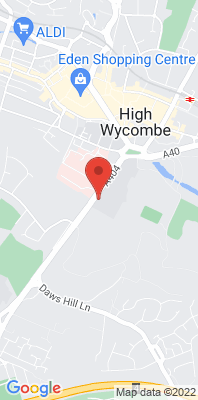 Map showing the location of the Wycombe Abbey 5 monitoring site