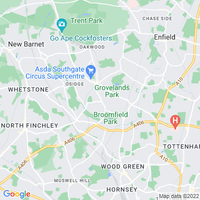 Southgate Green Location