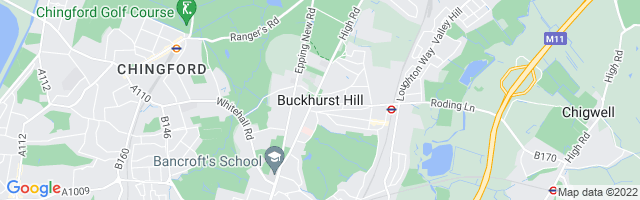 Map Of Buckhurst Hill