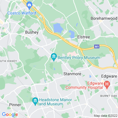 Stanmore Common, including Stanmore Cricket Club Location