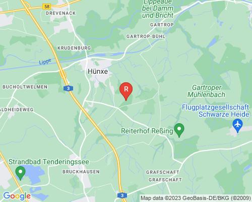 Google Karte von Rohrreinigung Hünxe