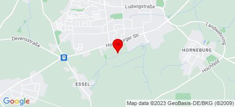 Google Map für Monteurwohnung Wember