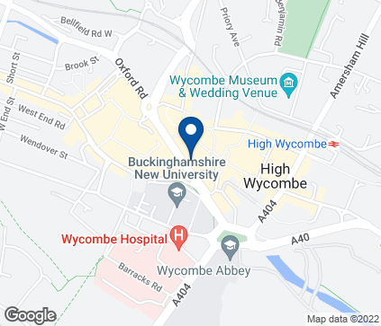 Map of 27 Eden Walk in High Wycombe