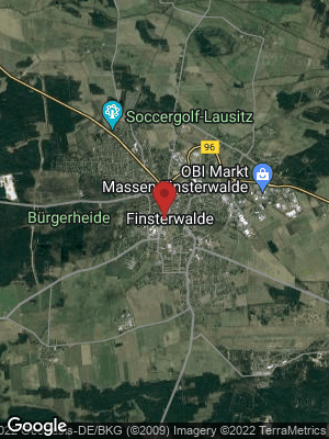 Google Map of Finsterwalde