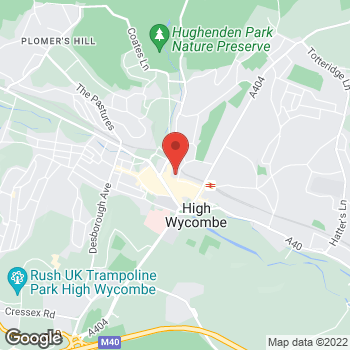 Map of wilko High Wycombe at Unit 30 The Chilterns, High Wycombe,  HP13 5ES