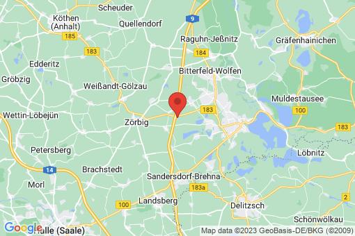 Karte Sandersdorf Heideloh