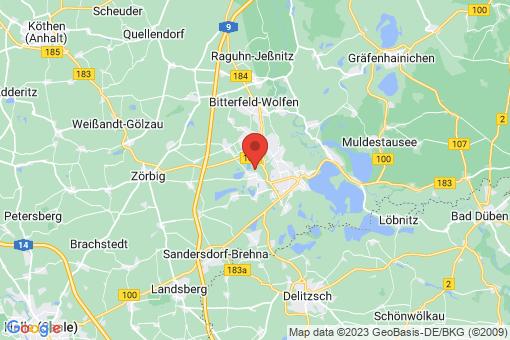 Karte Sandersdorf Sandersdorf